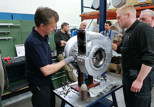 Teaching on the turbocharger