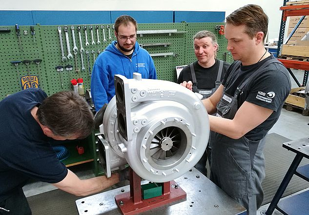 Practical use of the knowledge on the turbocharger