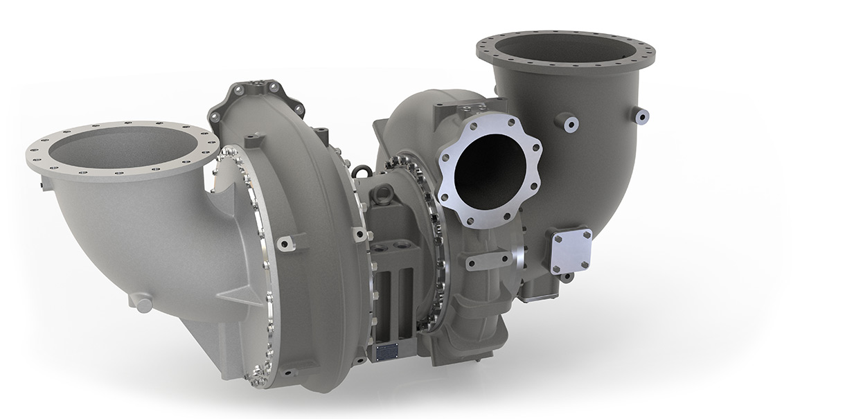 Turbocharger from ST series