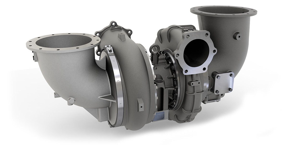 Turbocharger from HPR series