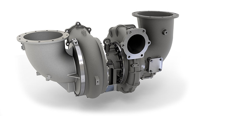 KBB turbocharger from HPR series