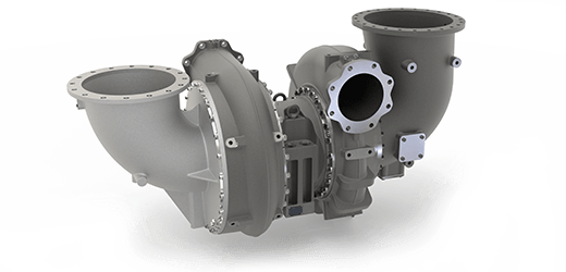 Exhaust-gas turbocharger from ST series