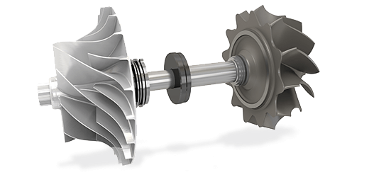 KBB Turbo ST5 product series - Rotor