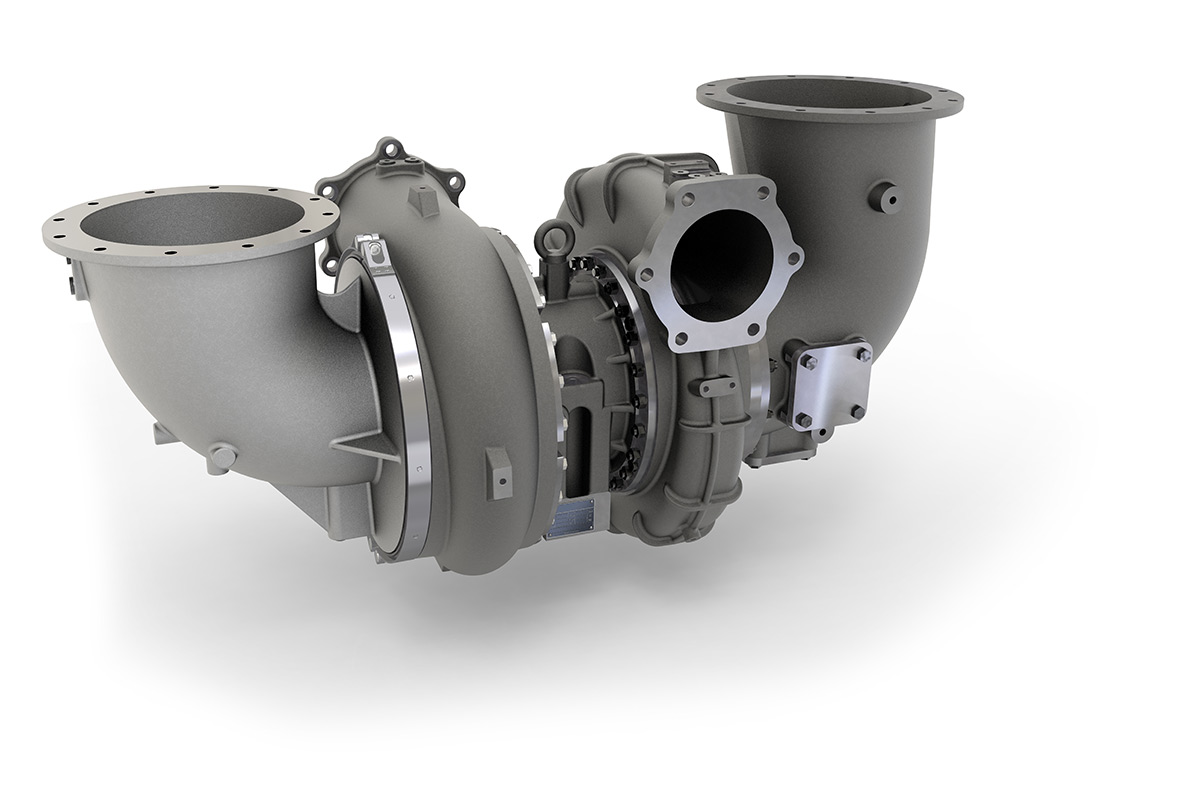 KBB turbocharger from ST series