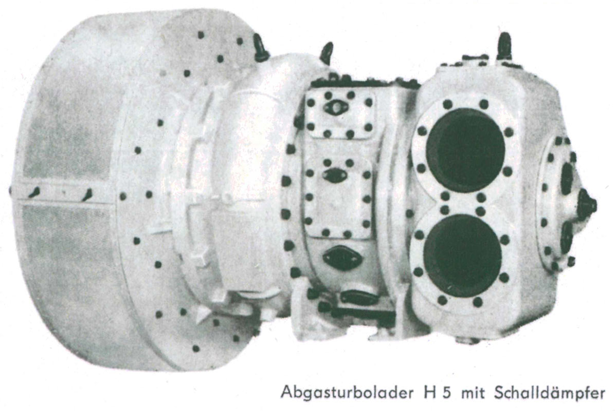 H series turbocharger